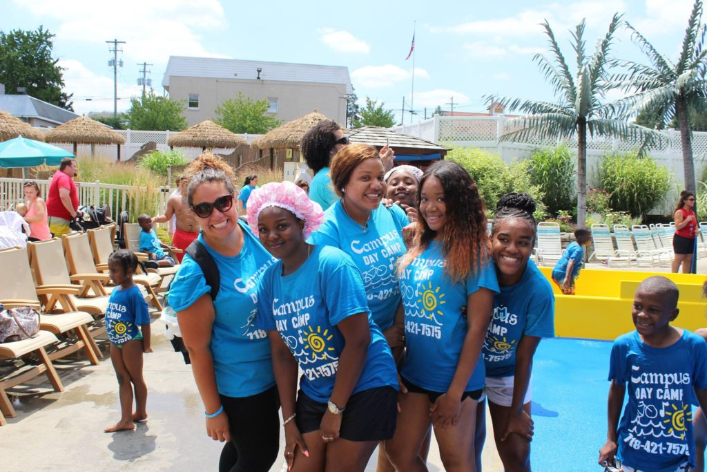 Our Students Are All Smiles at the Water Park